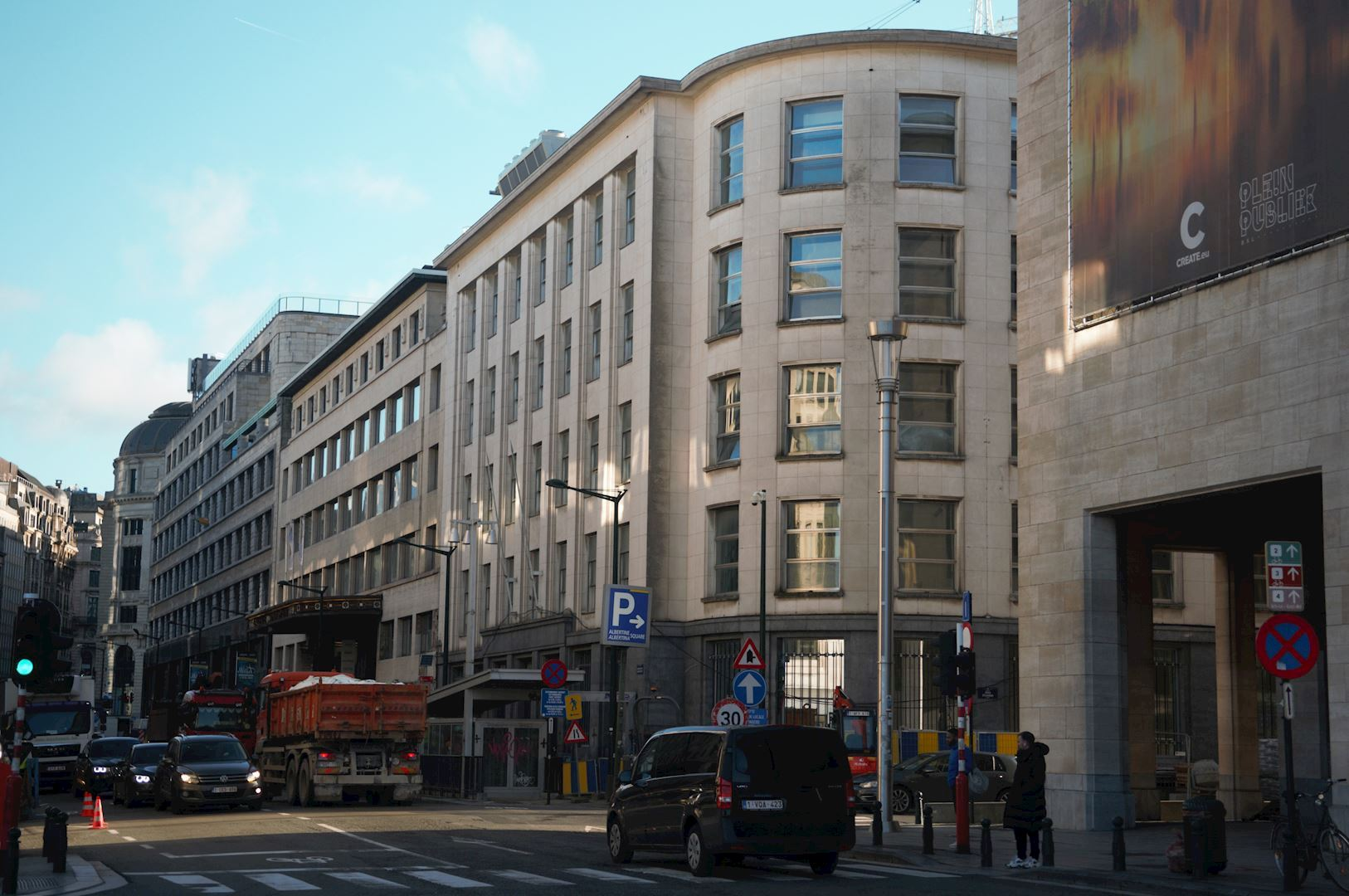 Voormalige 'Belgolaise' bank wordt Brussels Mobility Center