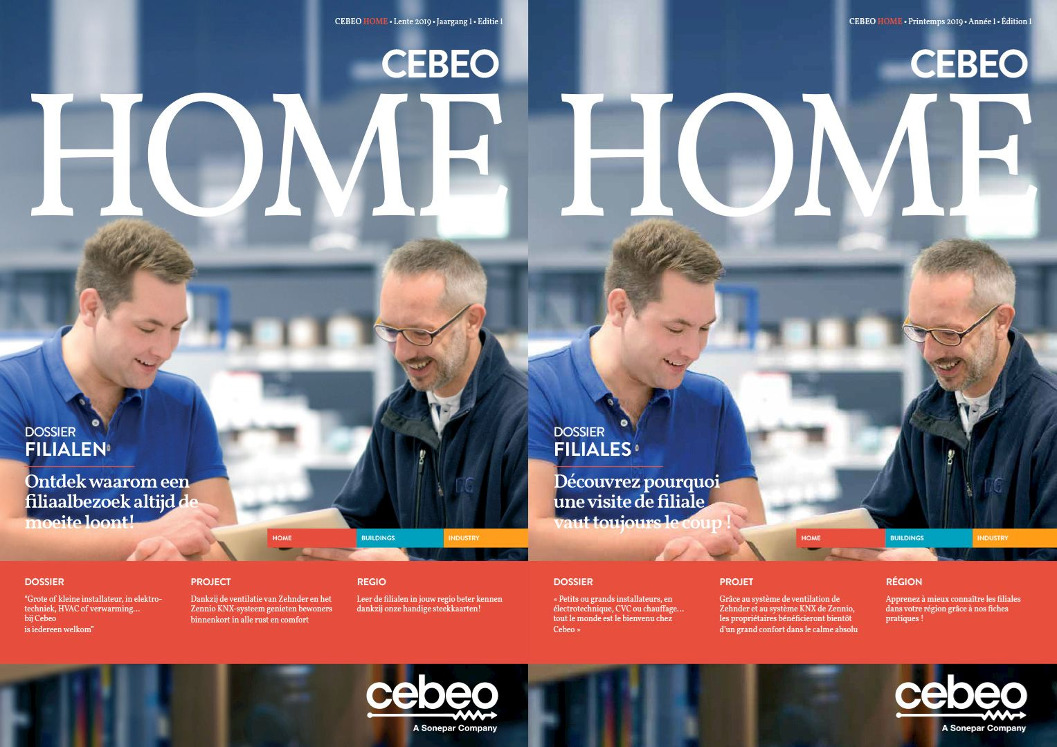 Cebeo Home 1 Filiales