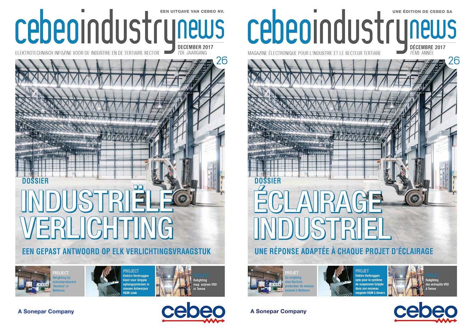 Cebeo Industry News 26 Éclairage Industriel