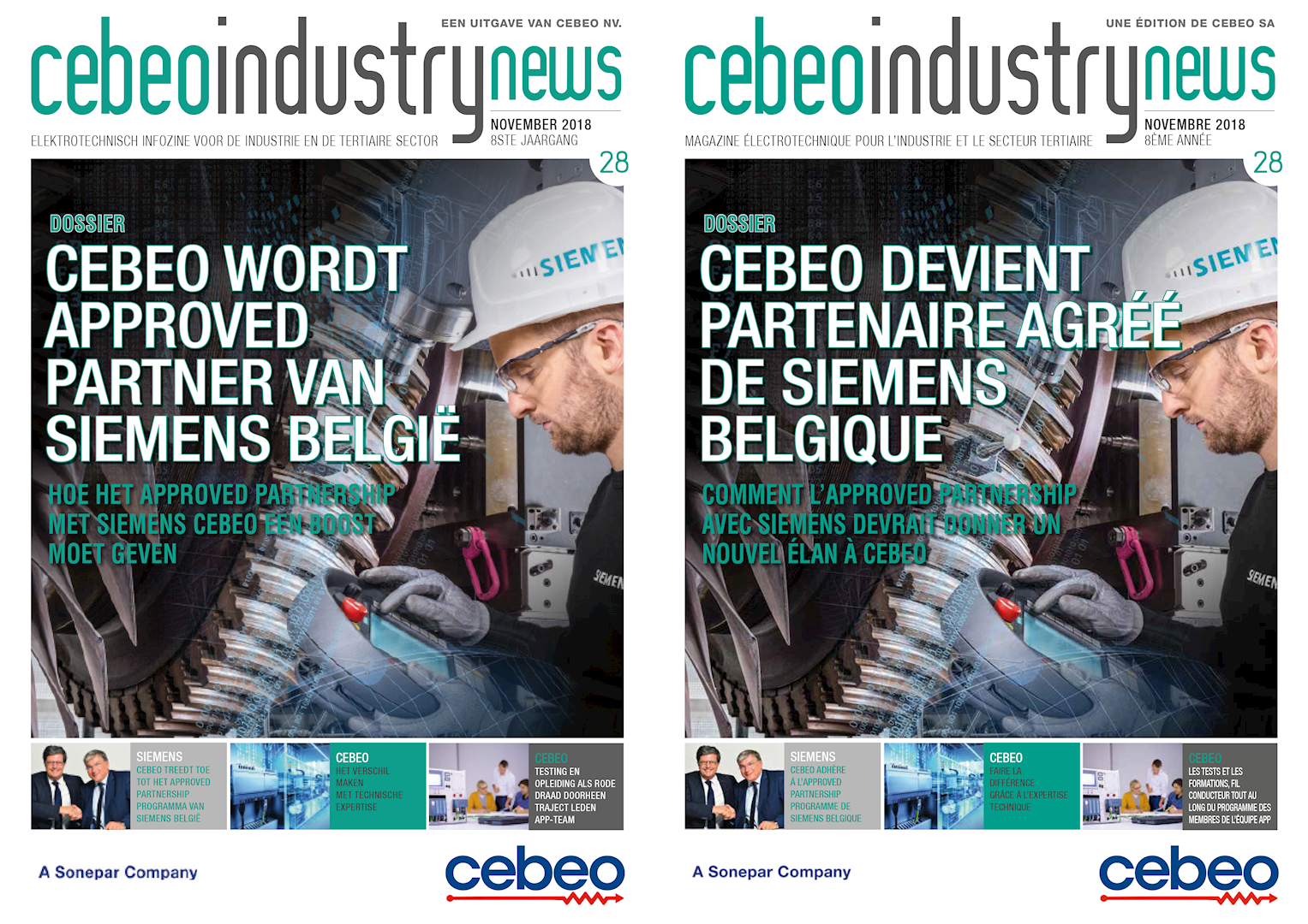 Cebeo Industry News 28 Siemens Approved Partner