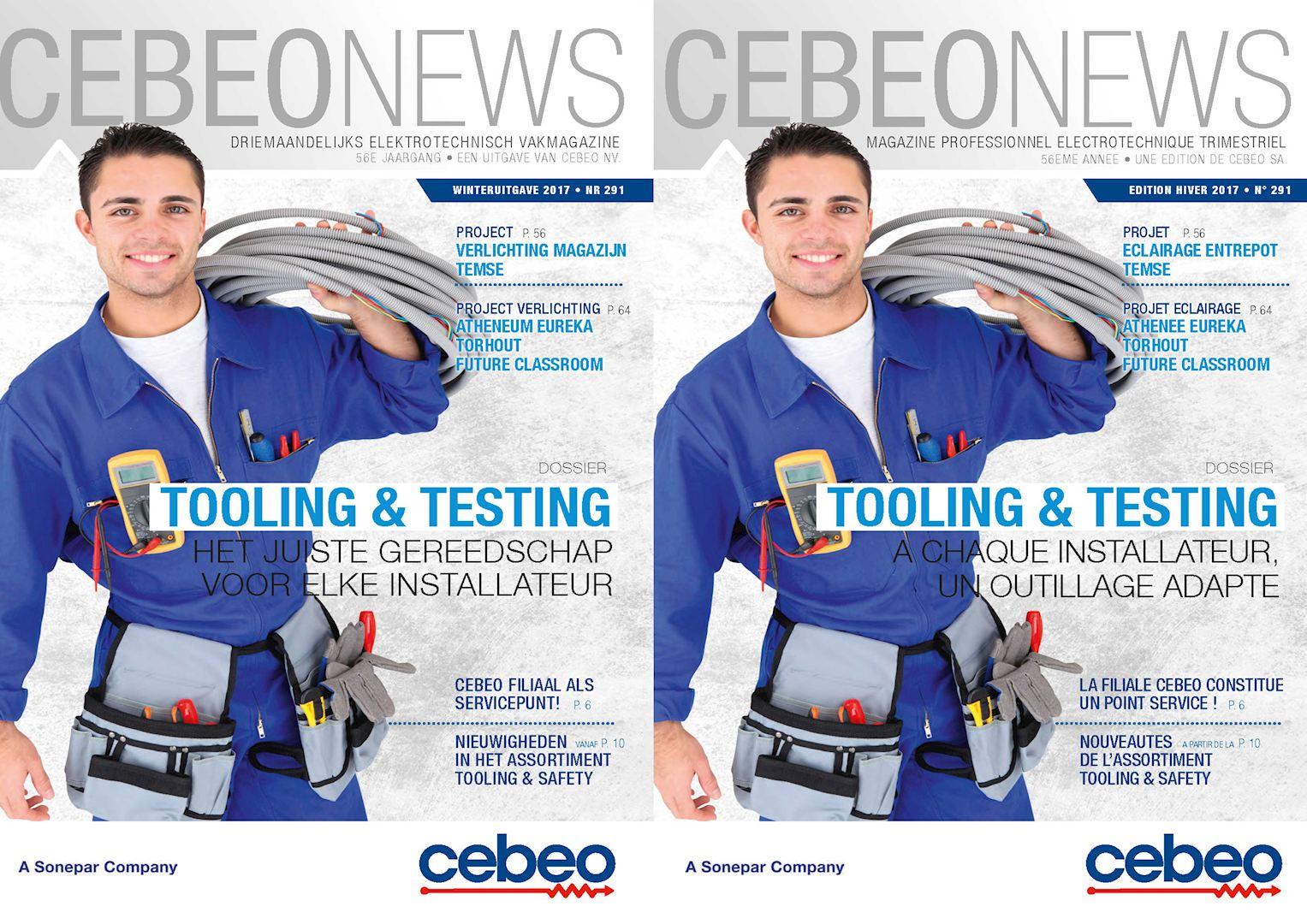 Cebeo News 291 Tooling