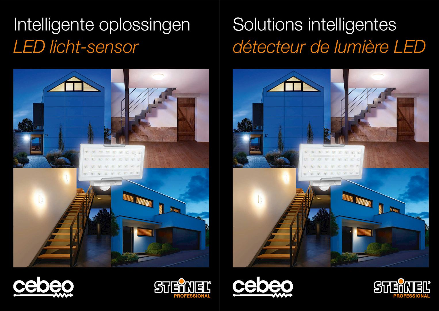Solutions LED intelligentes de Steinel