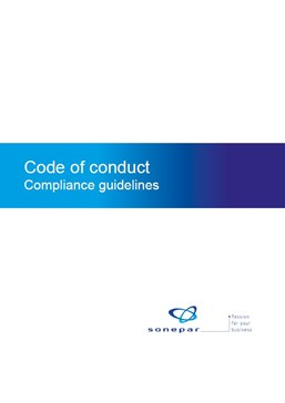 code of conduct compliance guidelines