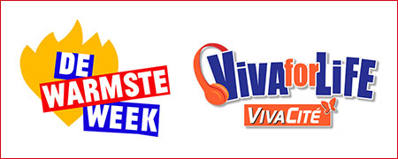 Cebeo soutient de Warmste Week & Viva For Life