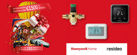 250 Golden Tickets dans produits Honeywell Home