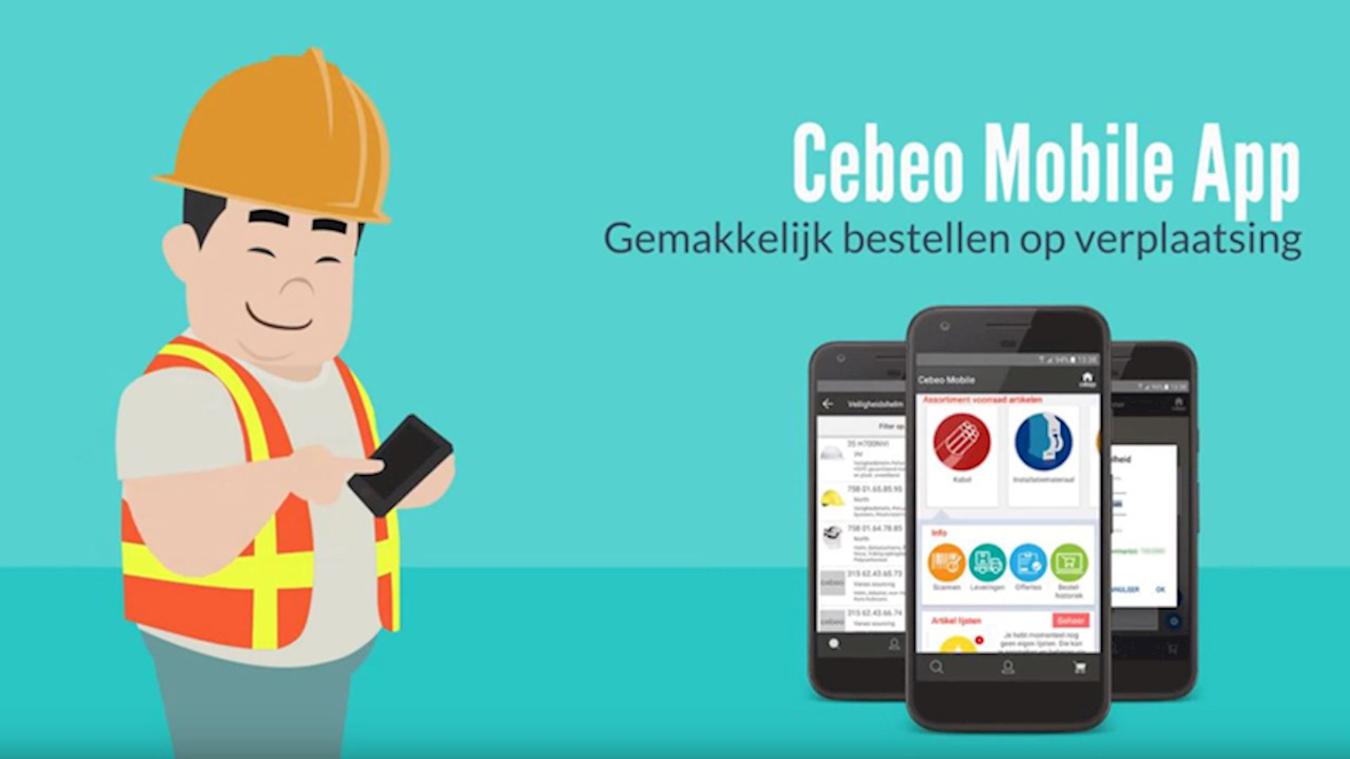 Cebeo Mobile App - Commander (01:04)