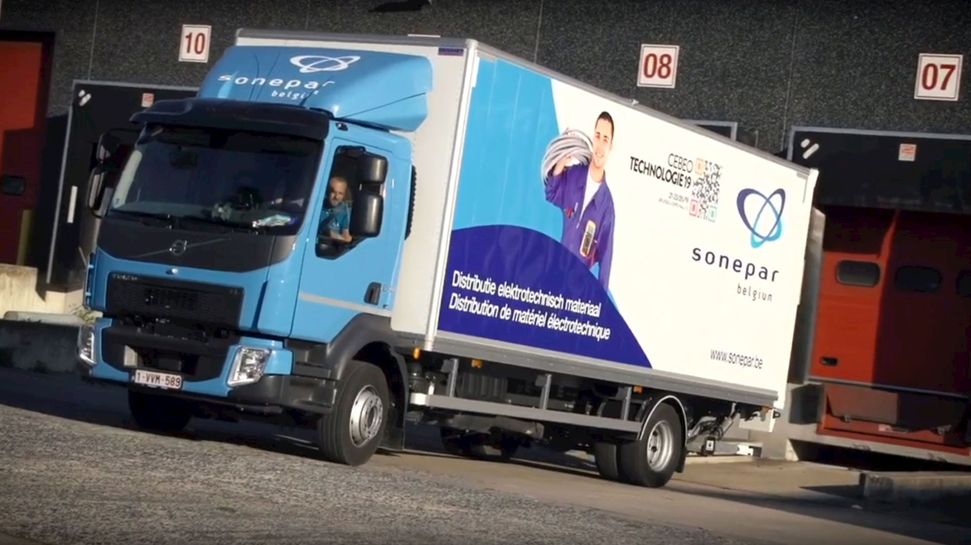Sobe-Log | Transport et distribution par Sonepar Belgium (01:14)